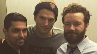 Ashton Kutcher, Wilmer Valderrama and Danny Masterson Have 'That '70s Show' Reunion!