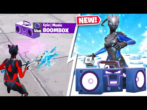*NEW* FORTNITE STEADY STORM & BOOMBOX GAMEPLAY! (LIVE) thumbnail
