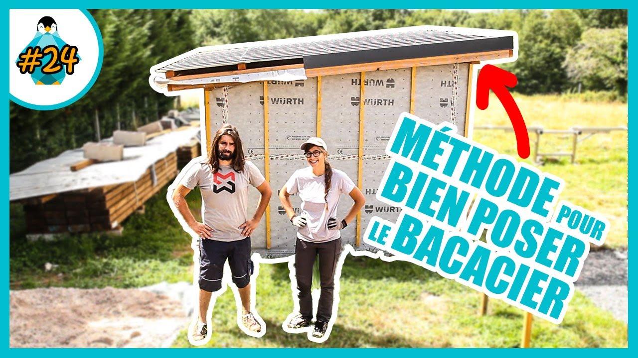 Comment Poser Du Bac Acier Pour Le Toit D Un Abri De Jardin Lpmdp 24 Youtube