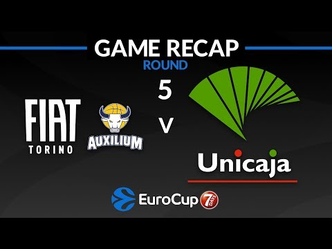 Highlights: Fiat Turin - Unicaja Malaga