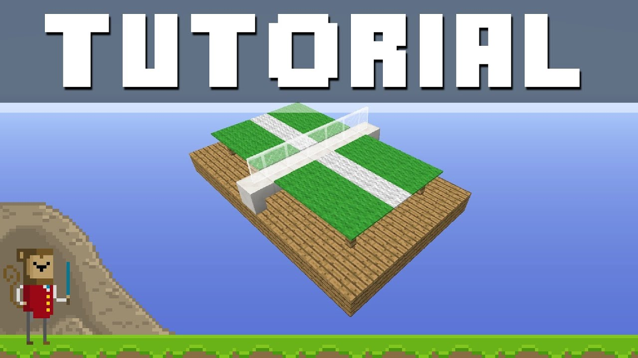 Minecraft Detail Tutorial - Ping Pong Table ! ! ! - YouTube