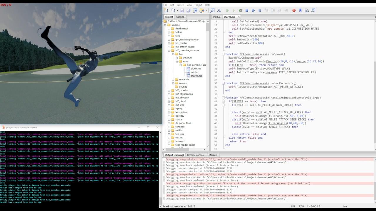 Pragma - A work-in-progress multiplayer sandbox engine