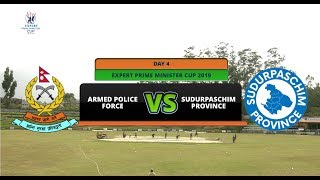 EXPERT PRIME MINISTER CUP 2076 || ARMED POLICE FORCE VS SUDURPASCHIM PROVINCE || AP1HD || 1ST INNING