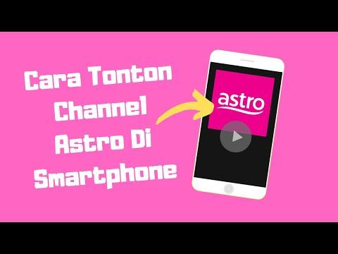 Cara Tonton Astro Di Smartphone