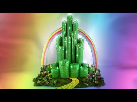 DIY Emerald City - Wizard of Oz