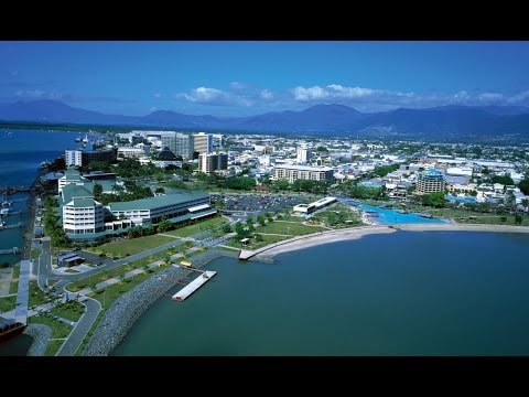 Cairns Tour - Esplanade Lagoon & Harbor & Pier Nightlife