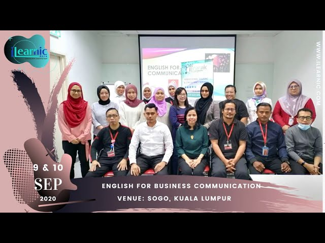 20, Sep 9 |  English for business Communication