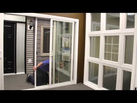 How to Remove or Install a Patio Door Screen | Centra