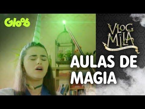 Aulas de Magia   EP.2   Vlog da Mila