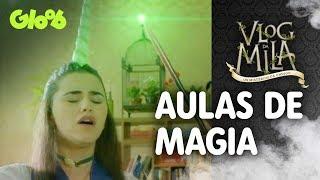 Aulas de Magia | EP.2 | Vlog da Mila | Gloob