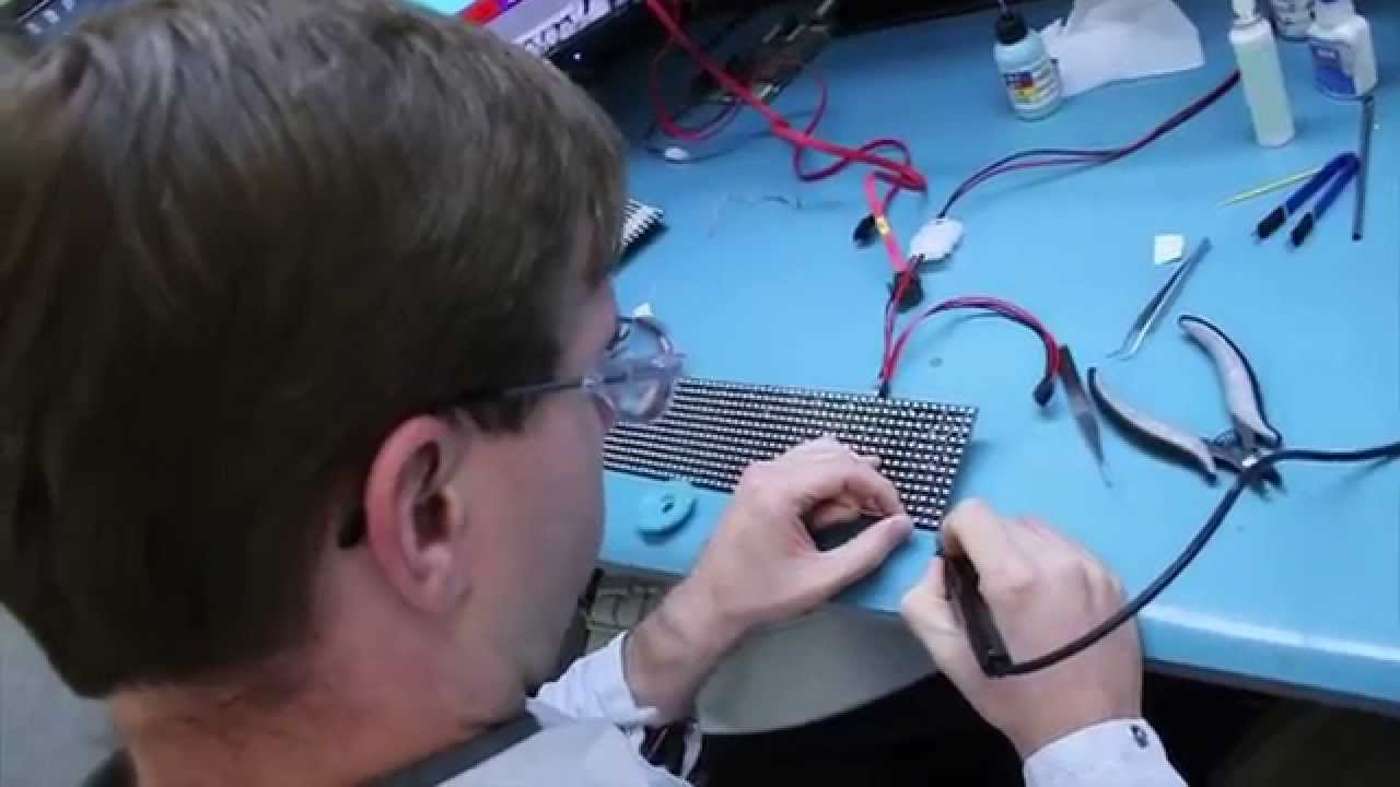 Electronics Technology Engineering And Electrical Wiring At Daktronics Youtube