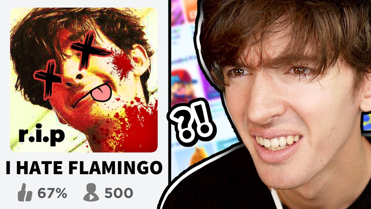 Why is this Roblox Flamingo hate game so popular ????