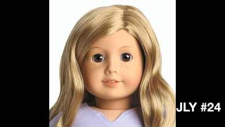 American Girl Just Like You Dolls Numbered 2012