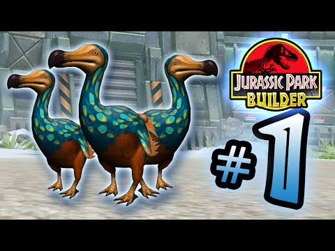 Jurassic Park Builder  GLACIER Tournament  Part 1   DoDo Mafia HD