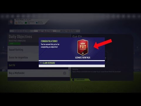 how to get free packs on fifa 18