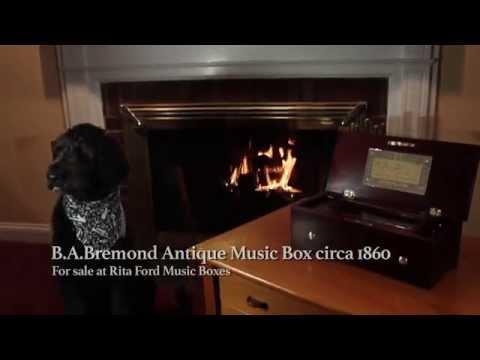 B.A. Bremond Antique Music Box Circa 1860
