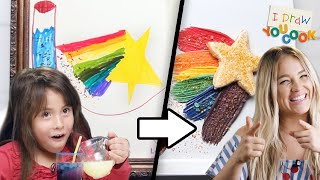 Can These Chefs Turn This Fairy Drawing Into A Dessert? • Tasty