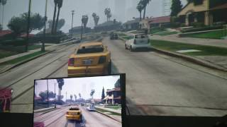 TV vs Projector ! - GTA V - BenQ w1070