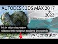 أغنية İvy Generator + Textures for 3Ds Max 2010-2018 (Download and install - Yüklə və quraşdır)