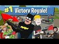 Batman's First Time Playing Fortnite Battle Royale (Animation)