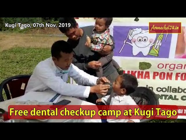 Arunachal- LPF organised free dental checkup camp at Kugi Tago