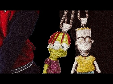 Lil Yachty Buys A Bart Simpson Chain Inspired By Gucci Mane
