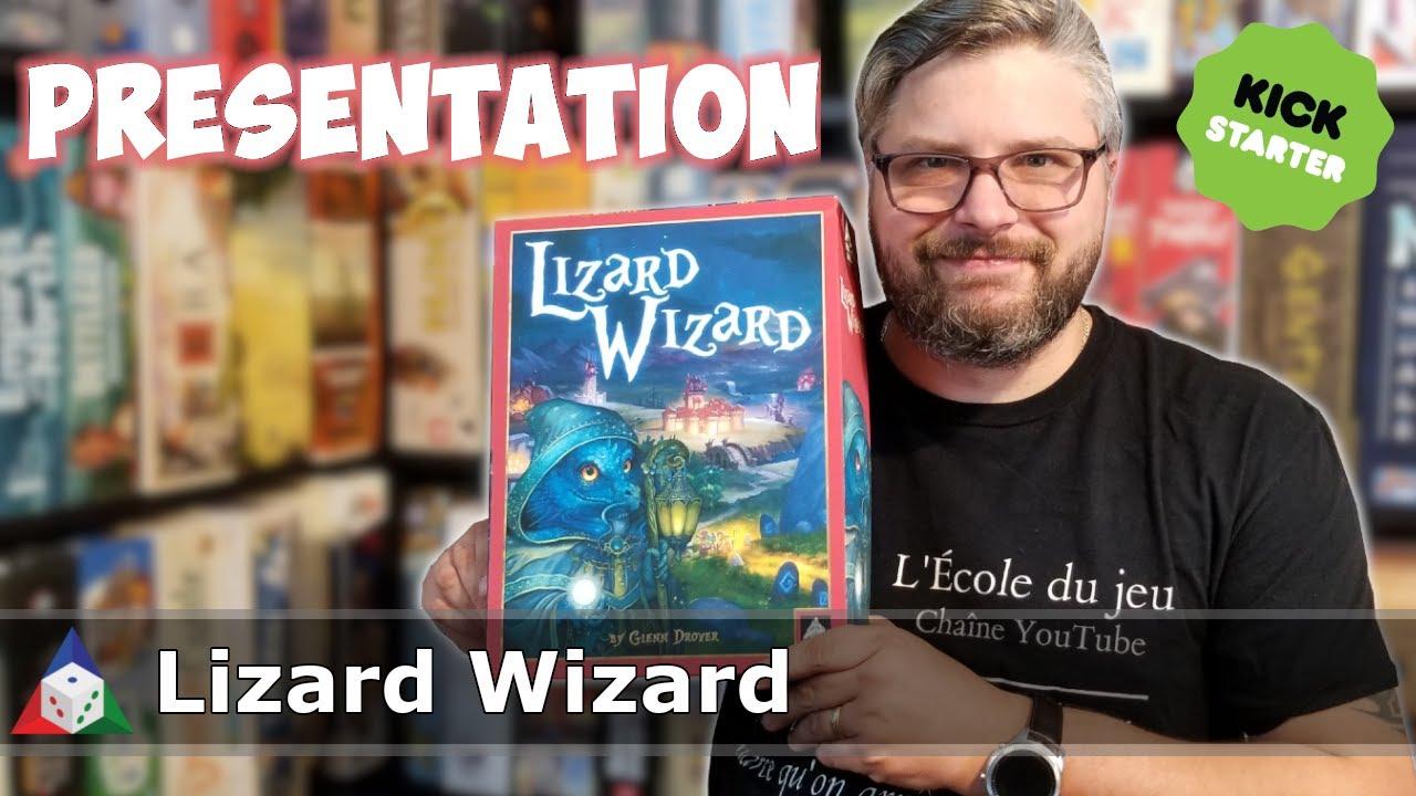 Lizard Wizard - Présentation du jeu
