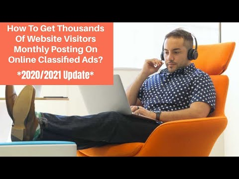 Free Classified Ads 2020/2021 (how To Post On Free Classified Ads Sites 2020/2021)