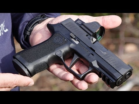 Sig Sauer P320 X Compact With Red Dot Sight Review Youtube
