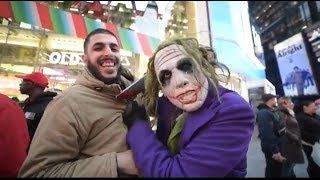 MUSLIM TALKS TO JOKER IN NEW YORK!!