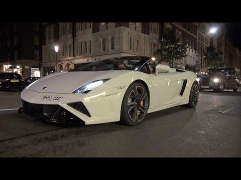 2014 Lamborghini Gallardo LP560-4 Spyder - Onboard Ride, Revs, Accelerating!