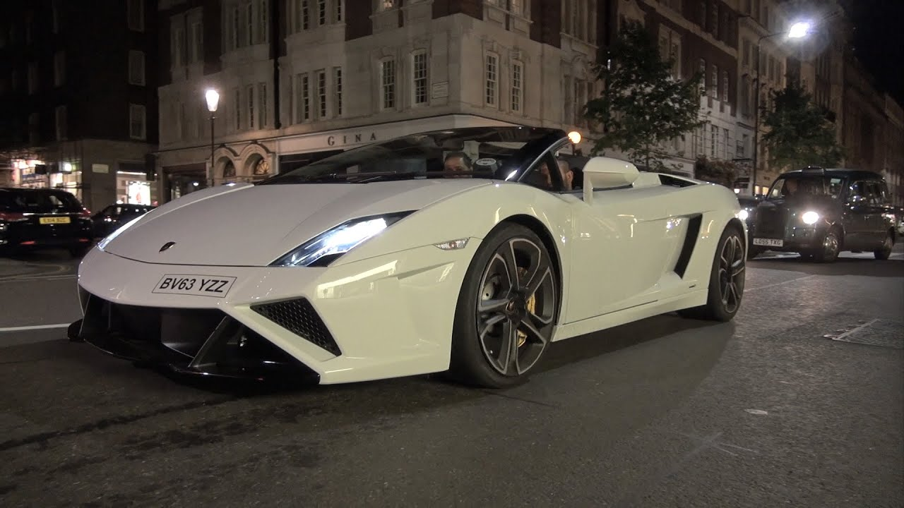 2014 Lamborghini Gallardo LP560-4 Spyder - Onboard Ride, Revs, Accelerating! - YouTube