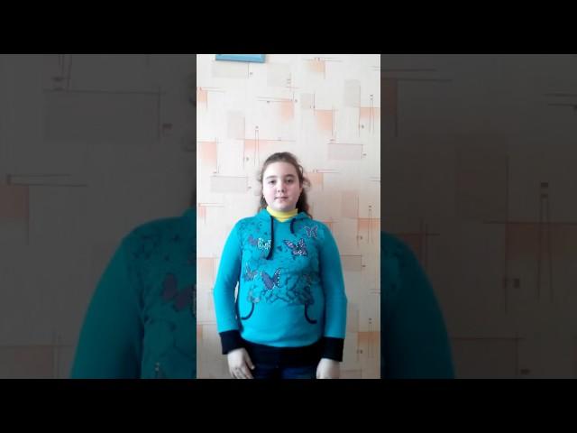 Изображение предпросмотра прочтения – ДарьяДемкив читает произведение «Тучи» М.Ю.Лермонтова