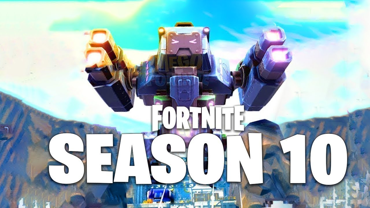 FORTNITE ROBOT LIVE EVENT *LEAKED* | SEASON 10 EXPLAINED ...