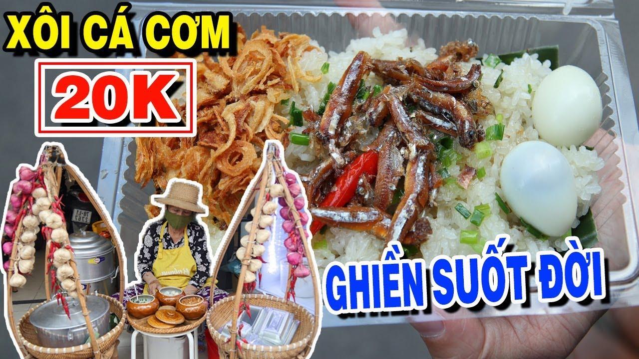 Duy Nhất Ở Sài Gòn Món XÔI CÁ CƠM Nha Trang 20K Ăn Là Ghiền ! | PM FOOD TRAVEL