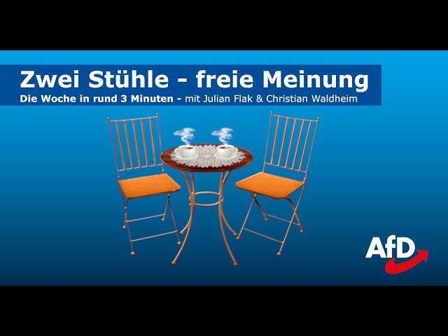 Zwei Stühle - freie Meinung | Die Woche in rund 3 Minuten | Ausgabe 1