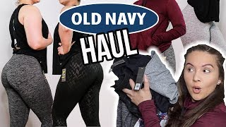 AFFORDABLE ACTIVEWEAR | OLD NAVY ACTIVE *TRY ON HAUL*