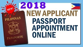 New! How to schedule passport appointment online 2018 / New applicant passport appointment online