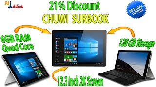 Buy CHUWI SurBook online /  2-in-1 tablet Surface Pro Alternative