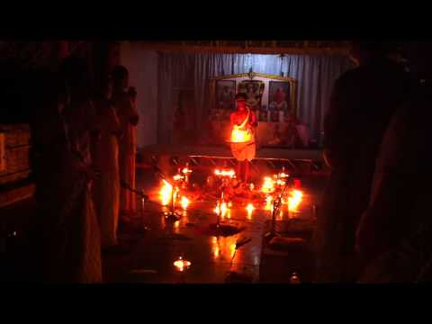 Beautiful Mantra Chanting And Fire Puja At Sivananda Ashram Madurai