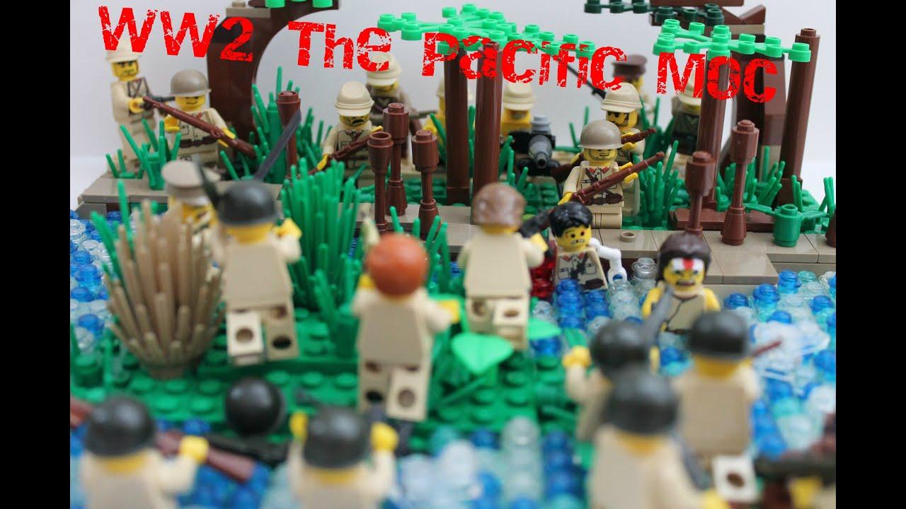 Lego World War 2 Pacific MOC - YouTube