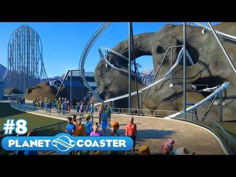 Let's Build the Ultimate Theme Park! - Planet Coaster - Part 8