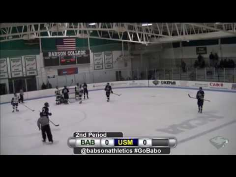 Babson Men's Ice Hockey vs. Southern Maine (1/20/18)