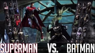 Superman vs. Batman - Injustice Gods Among Us Gameplay