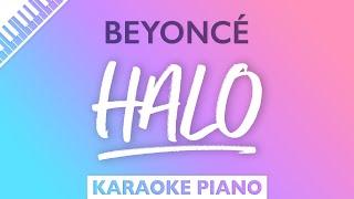 Beyoncé - Halo (Karaoke Piano)