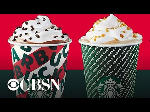 Rick Woodell - Starbucks' New Holiday Cups AND New Holiday Drinks!