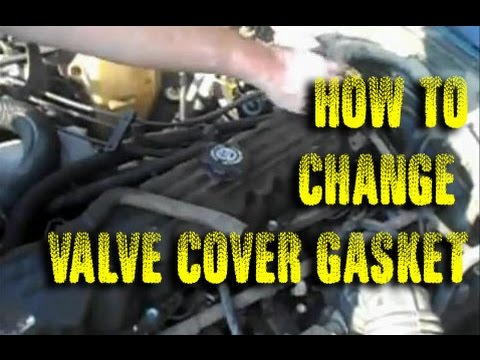 Changing Valve Cover Gasket On A Jeep Cherokee 4 0 Youtube