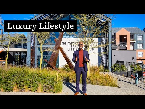 Touring The Precinct Luxury apartments   Waterfall   Johannesburg   South Africa