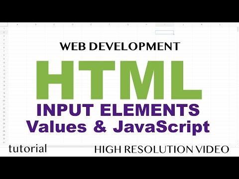 HTML Input Box Value & Javascript - Number, ParseInt, ParseFloat - HTML5 & JavaScript - Part 5