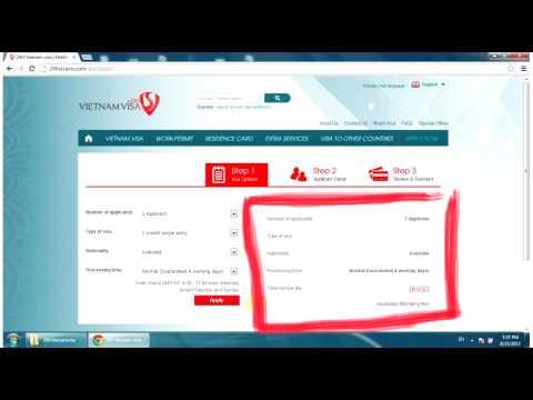 File user manual ONLINE visa website 24hvisavn.com
